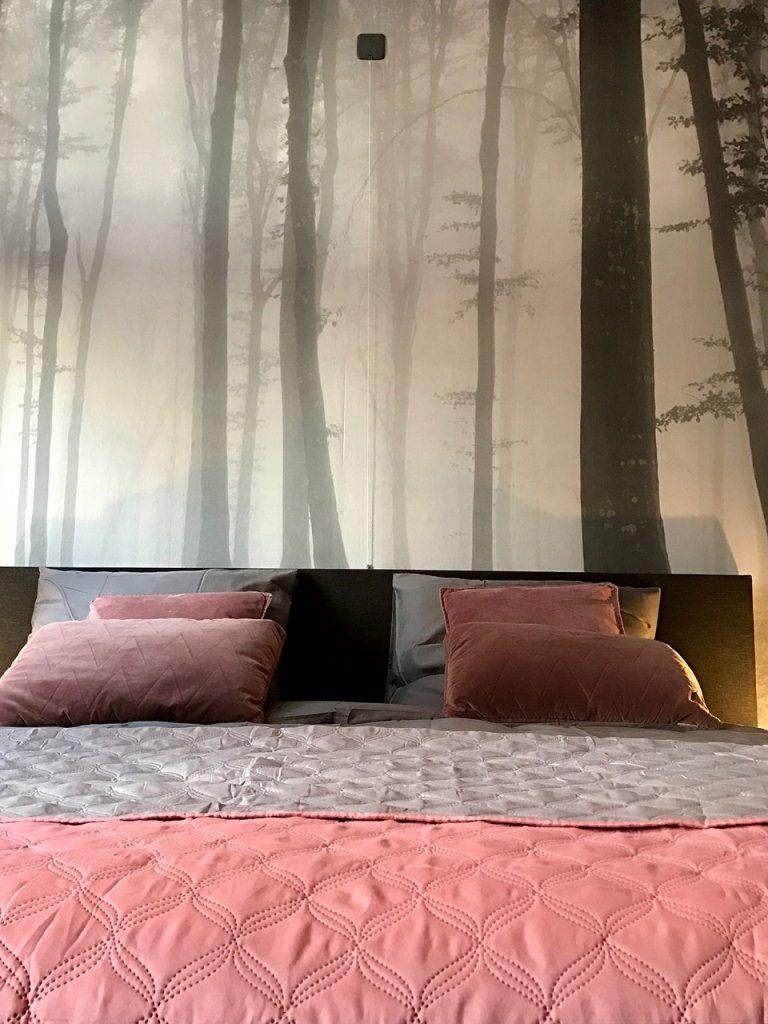 Pink i soveværelset