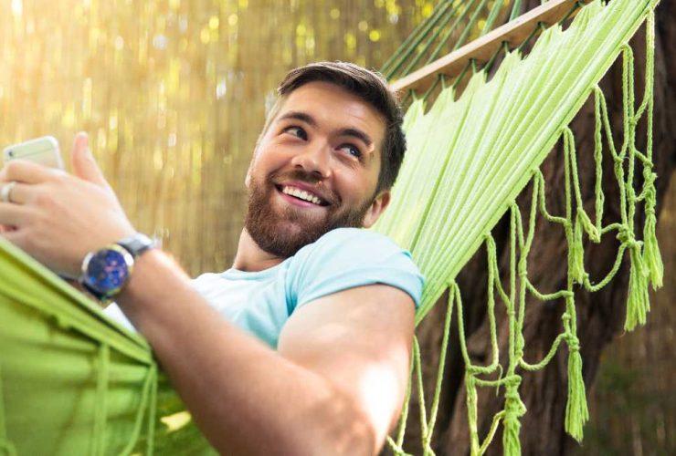 10 flotte hængekøjer med en bæreevne på 200 kg