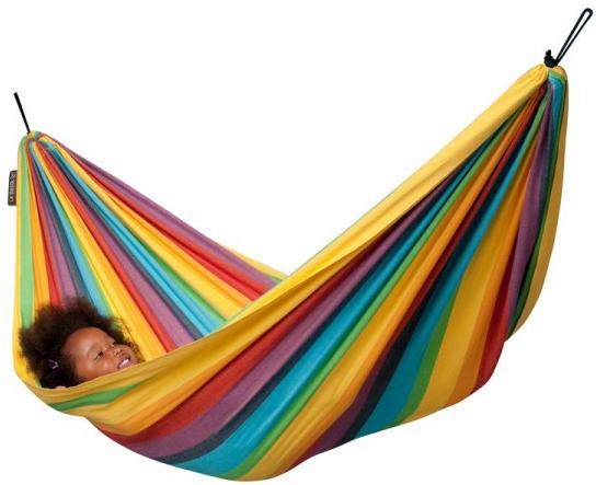 Flot stribet hængekøje til børn