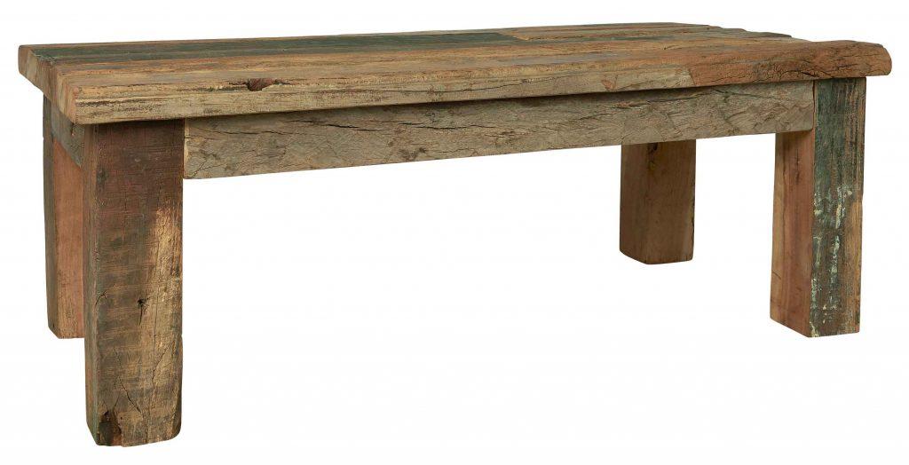 Unika sofabord i genbrugstræ